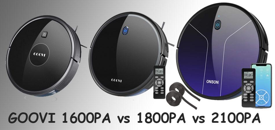 GOOVI 1600PA vs 1800PA vs 2100PA