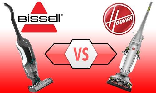 Hoover FloorMate Deluxe vs Bissell CrossWave Max
