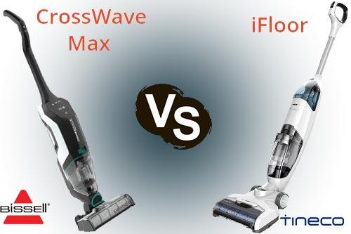 Tineco iFloor vs Bissell CrossWave Max